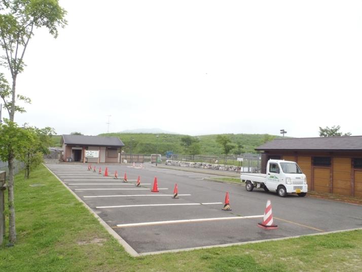 平尾台自然の郷キャンプ場駐車場